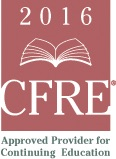 Full participation in the ADRP 2016 Webinar Series is applicable for 12 points (1 point per webinar) of Education credit for the CFRE International application for certification and/or re-certification.